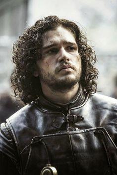 Kit Harington ~ as Jon Snow looking sexy af