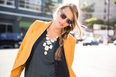 golds and grays balance out for the perfect fall color palate! #maxxinista #fashion