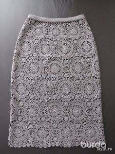 22 Trendy Ideas For Crochet Clothes Patterns For Women Crafts Black Crochet Dress, Crochet Skirts, Crochet Blouse, Crochet Clothes, Beau Crochet, Irish Crochet, Crochet Lace, Doilies Crochet, Knitting Patterns