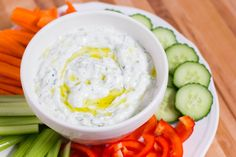 Traditionally, tzatziki is served as either a sauce or a salad.  We think it's perfect with raw and cooked veggies as well as grilled meat and fish.  Try is served with chicken, beef, pork, or lamb. Use it as a spread in a pita, on a sandwich, on your burger or even with middle eastern …