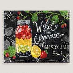 One of my favorite discoveries at WorldMarket.com: Mason Jar Fruit by Jennifer Brinley