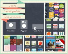 Canva est l'outil parfait pour illustrer les articles de votre blog. Cet outil vous permettra de réaliser des collages pour rendre vos images attrayantes. Idéal si vous souhaitez que vos lecteurs partagent plus vos articles sur #Pinterest.