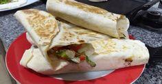Fabulosa receta para Shawarma de pollo y cebolla caramelizada.