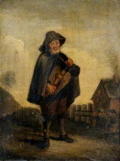 "СЕРИИ ""ПЯТЬ ЧУВСТВ"" David Teniers II Five senses - Hearing (Слух)."