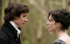 Still of James McAvoy as Tom LeFroy with Anne Hathaway's Jane Austen in Becoming Jane © La Fabrique de Films Jane Austen, Period Movies, Period Dramas, Movie Theater, Movie Tv, Becoming Jane, Bbc Two, Recent Movies, Maggie Smith