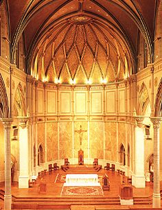 """Cathedral of St. Paul in Birmingham, AL -- featured in the wonderful movie """"October Baby"""" in a very moving scene. Need to visit next time I'm in Alabama!"""