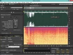 Saturation du son, traitement avec Audition CS6. - YouTube
