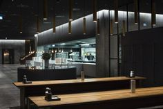 'Transform our future canteen area into an aesthetic experience with the atmosphere of a high end restaurant'.
