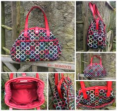 At home with Mrs H: The Companion Carpet Bag Sewing pattern - January '15 BOMC
