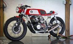 ❦ Honda CB550 Cafe Racer / M Customs | Cafe Racers | Scoop.it