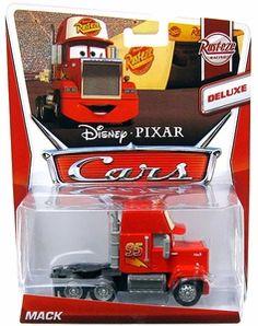 CARS MAINLINE 1:55 Die Cast Car DELUXE Mack (Rust-Eze Racing 2/8)
