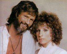 Kris Kristofferson Barbra Streisand A Star Is Born 1976 Male Country Singers, 1976 Movies, Jazz, Kris Kristofferson, Chick Flicks, Soundtrack To My Life, Barbra Streisand, Killer Queen, Famous Stars