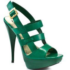 Michael Antonio Women's Teague - Green Patent Pu