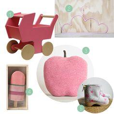 Pink nursery wish list