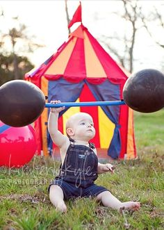 There is no doubt that your little one's birthday is the biggest and best show in town, so it only makes sense to throw them a Circus themed birthday party!  #circus #birthdayparty #partyideas