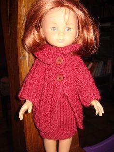 Fiche gratuite vêtements de poupée N° 167: tailleur