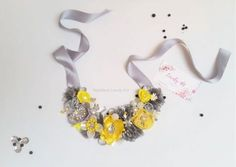 Colier floral Summer - Necklace Colier Elegant