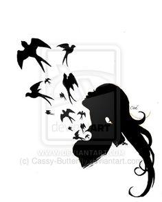 Freedom (Tattoo Concept) by Cassy-Butterfly.deviantart.com on @deviantART