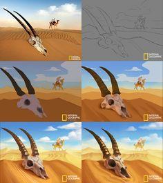 ArtStation - Cartoon National Geographic 02, Crazy JN
