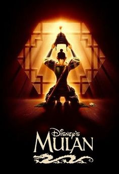 Mulan, some girls liked Disney princesses. I liked Disney warriors.