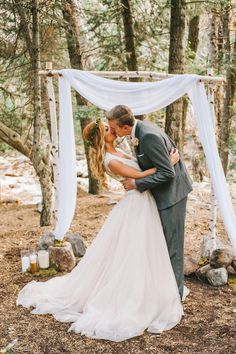 Ideas For A Romantic Vow Renewal In Nature
