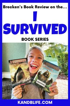 10 year-old Brecken reviews the I Survived Book Series by Lauren Tarshis. Find out out what they're aobut, who the series would be good for, and much more! Enjoy! Lauren Tarshis, Book Reviews For Kids, I Survived, 10 Year Old, Love Book, Book Series, Childrens Books, Survival, Reading