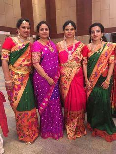 Indian Bridal Sarees, Bridal Silk Saree, Indian Beauty Saree, Indian Lehenga, Saree Jewellery, Gold Jewellery, Jewelry, Saree Kuchu Designs, Checks Saree