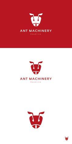 Ant machinery logo.. Logo Templates. $29.00