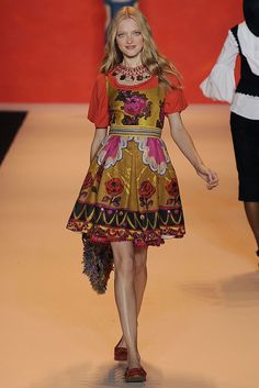 Anna Sui - Spring 2009 Ready-to-Wear