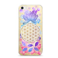 Flower Of Life, Lotus Flower, Rainbow iPhone Case  5/5s SE, 6 Plus 6s Plus, 6 6s    GOLD, RAINBOW, FLOWER OF LIFE, AWESOME!    ABOUT  Lotus Flower & Flower of life design together on an iPhone Case with bubble & a gold background.  Colors of purple, indigo, teal & gold with the Flower of Life design from sacred geometry.  Beautiful and amazing.  One-Of-A-Kind-Orginal design is made available here on Etsy by me, the artist.      Enjoy.    Design is property of MagicAltar,LLC.    Original…