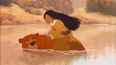 Kenai and Nita from Brother Bear 2