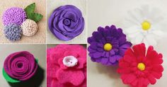 Preparamos um post com dicas, inspirações e passo a passos de 5 flores de feltro, uma mais linda que a outra. Veja agora mesmo!