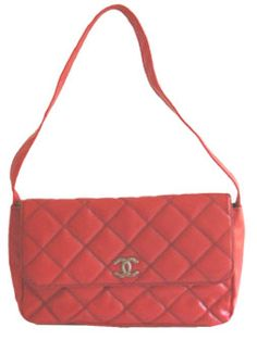 1980s Red Vinyl Vintage Handbag