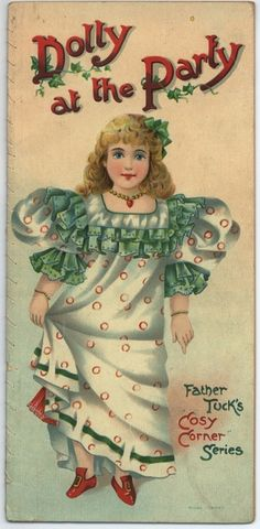 Dolly at the Party ~ Father Tuck's Cosy Corner Series Book