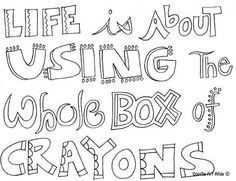 adult colouring sayings free - Google Search