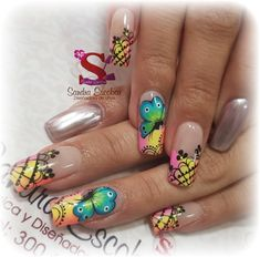 Summer Nails, Pedicure, Gel Nails, Finger, Nail Designs, Nail Art, Instagram, Beauty, Spring