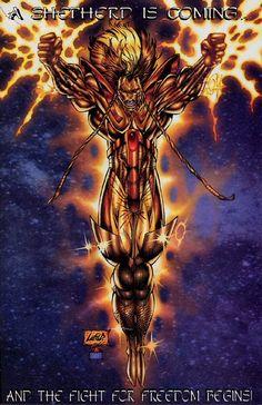 Past Work - Rob Liefeld Creations Image Hero, Deadpool Costume, Savage Dragon, Rob Liefeld, Gen 13, Anatomy Drawing, Image Comics, Comic Art, Original Artwork