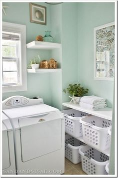 Beautiful Bathroom Cabinet with Baskets