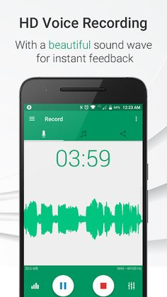 Parrot – Voice Recorder Pro v2.3.0 [Unlocked] 	Requirements: 4.4+ 	Overview: Parrot is a free voice recorder app which allows you to Record, Play and Share voice recordings, all within 3 taps! A simple and beautiful user interface helps you create crisp and balanced voice recordings. Use...
