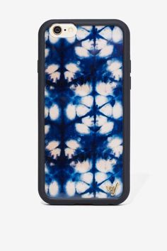 Wildflower Blue Indigo iPhone 6 Case