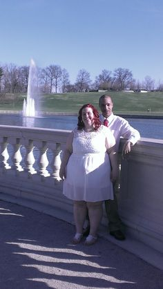 Allen and Megan were married at Forest Park on 4-11-14