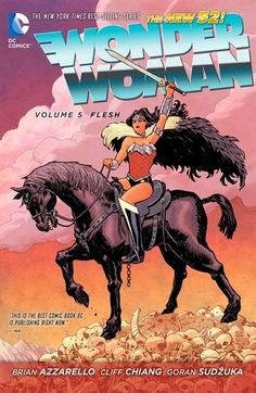 Release Day Review: Wonder Woman, Vol. 5: Flesh by Brian Azzarello