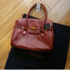 NWT Brooks Brothers leather (calf skin) handbag Gorgeous handbag! New with tags and dust bag! Brooks Brothers Accessories