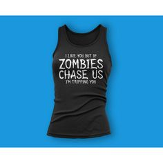The Walking Dead Shirt Zombie Shirt Womens Walking Dead Walking Dead... ($13) ❤ liked on Polyvore