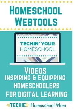 Techie Homeschool Mom's Favorite Homeschool Webtools for online learning