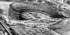 Shea Stadium is gone, but its impact on ballparks lives on. Shea Stadium, Yankee Stadium, Sports Stadium, Stadium Tour, Baseball Park, Sports Baseball, Lets Go Mets, Washington Nationals, New York Mets