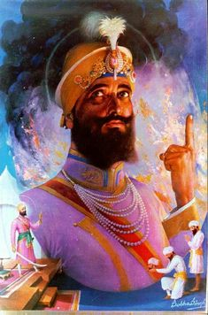 Guru Gobind Singh Ji - Satgur mera maar jeevaley