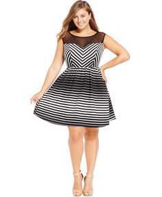 Trixxi Plus Size Cross-Front Bodycon Dress - Plus Size Clearance ...