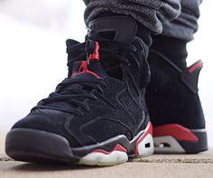 Air Jordan 6 black Infrared - jlin1314-1 Sneakers Fashion, Fashion Shoes, Sneakers Nike, Thug Style, Punk Disney, All About Shoes, Sport Fashion, Shoe Game, Jordan Shoes