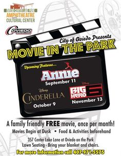 Movie in the park broomfield